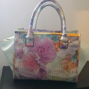 Ted Baker Floral Purse (Mint Green)